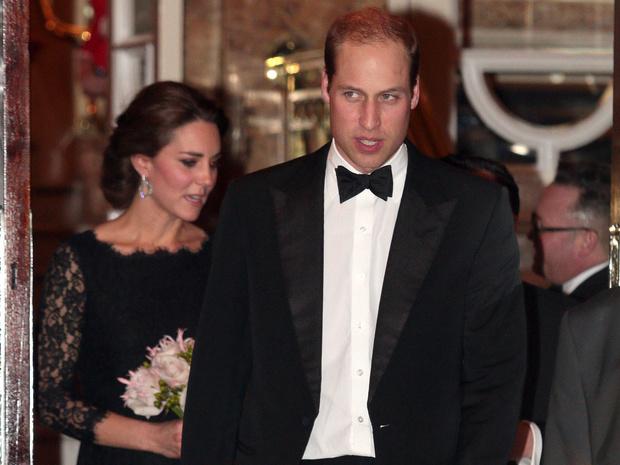Фото №1 - Ревнивый Уильям: суровая реакция принца на флирт другого мужчины с Кейт