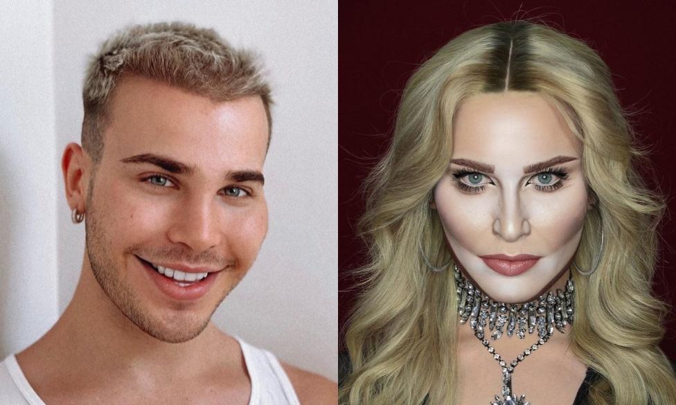 Чудеса перевоплощения: визажист в образах Мадонны, Ди Каприо и других звезд