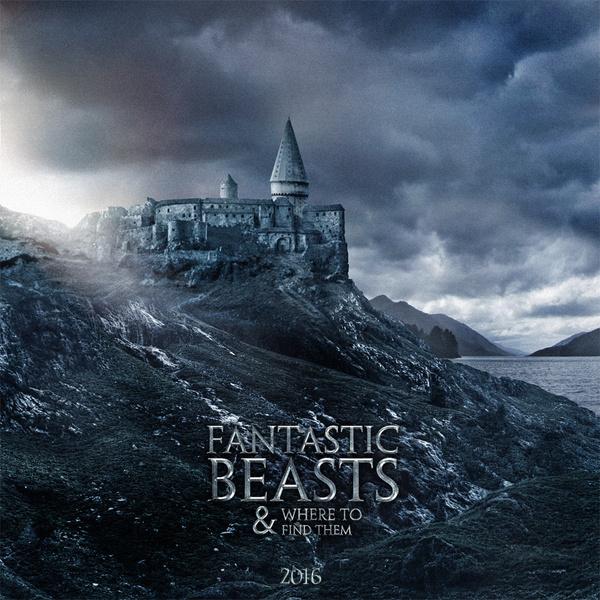 Постер к фильму «Волшебные твари и где их искать»