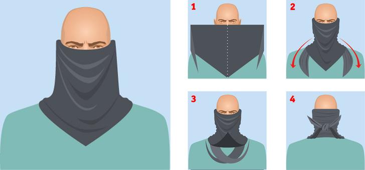 Фото №2 - Как повязывать и носить шемаг (4 способа)