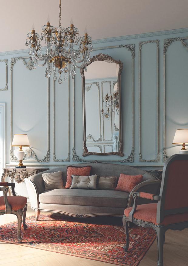 Фото №2 - Классические стили в контексте современного дизайна