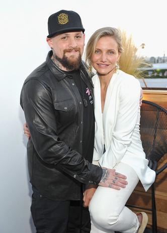 Кэмерон Диаз и ее муж, гитарист группы Good Charlotte Бенджи Мэдден