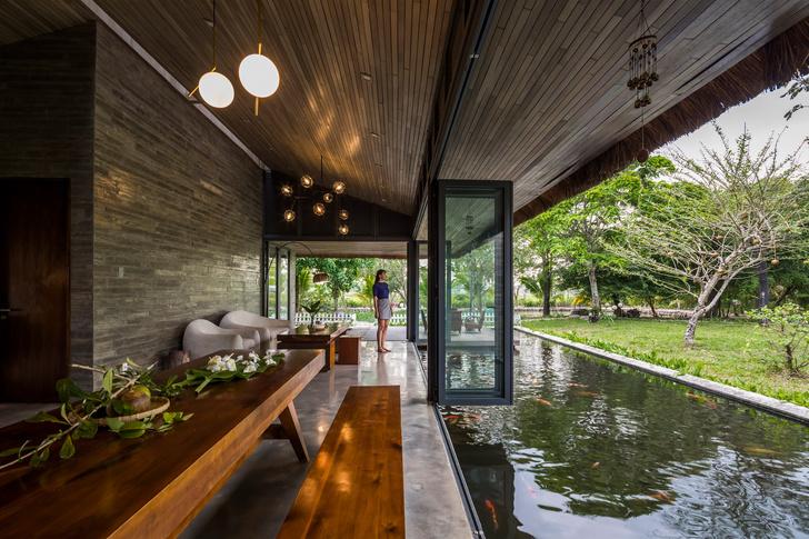Фото №4 - Дом с соломенной крышей и прудом во Вьетнаме
