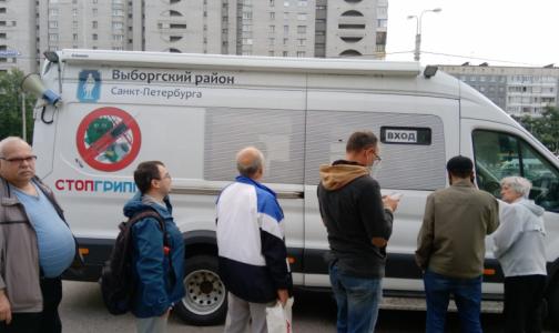Фото №1 - Как в 2020 году петербуржцы смогут привиться от гриппа у метро и торговых центров