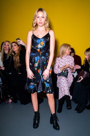 Фото №4 - Королевский стиль: греческая принцесса затмила всех на неделе моды в Нью-Йорке