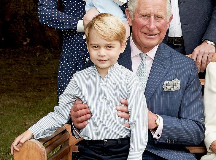 Фото №1 - Принц Джордж получил свою первую работу