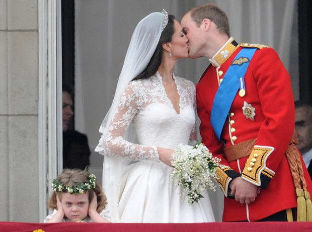 Фото №13 - Самые забавные моменты на королевских свадьбах (истории в фотографиях)