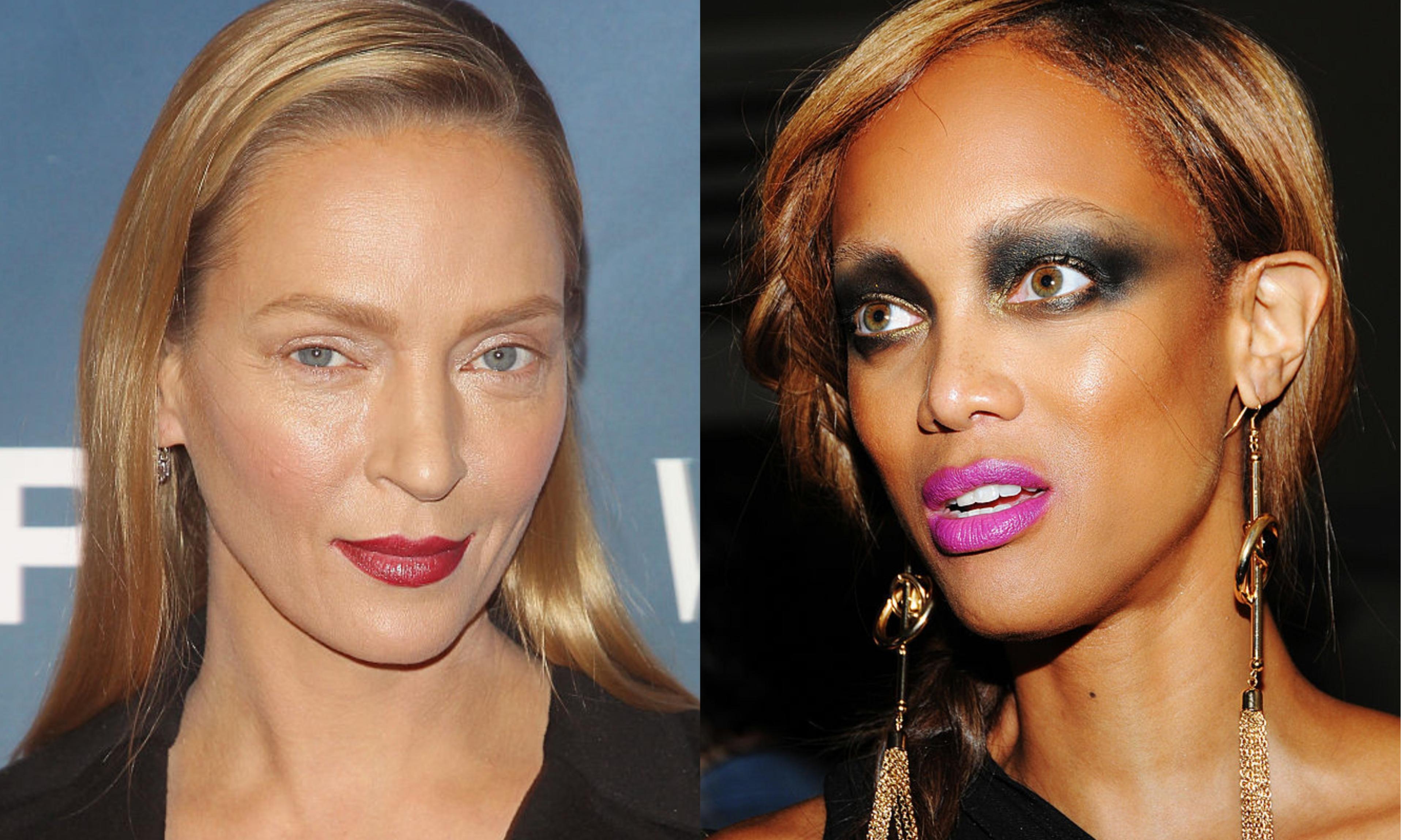 Звезды с неудачным макияжем: худшие образы, фото