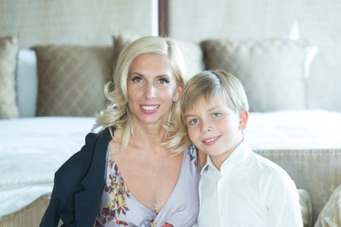 Алена с сыном Григорием