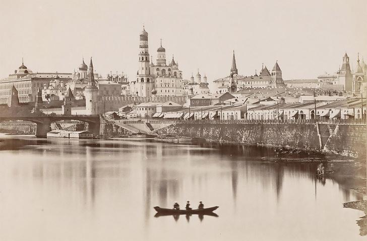 Фото №1 - Уникальная сверхчеткая фотография Москвы XIX века