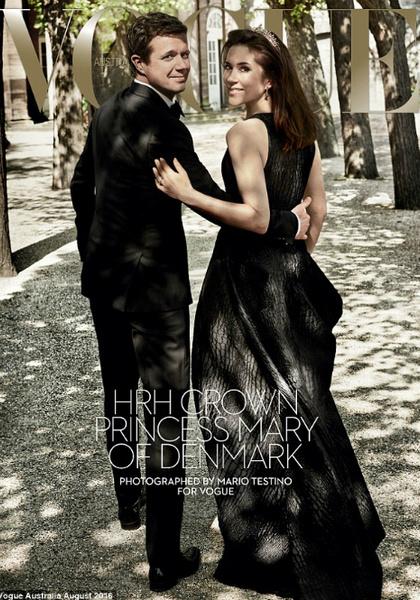 Фото №1 - Принцесса Мэри снялась для австралийского Vogue
