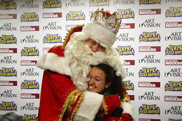 Фото №4 - Главный Дед Мороз страны дал пресс-конференцию