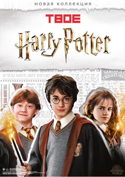 Фото №1 - Встречай волшебную коллекцию «Гарри Поттер» во всех магазинах ТВОЕ