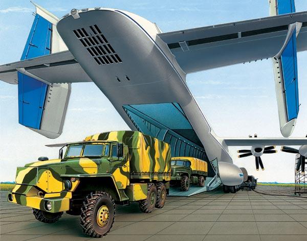 Фото №1 - Военно-грузовое такcи