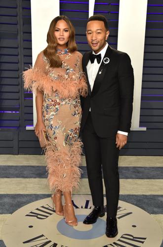 Фото №13 - Самые стильные звездные пары на вечеринке Vanity Fair-2019
