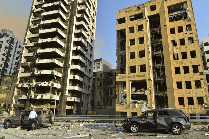 Фото №1 - Взрыв в Бейруте