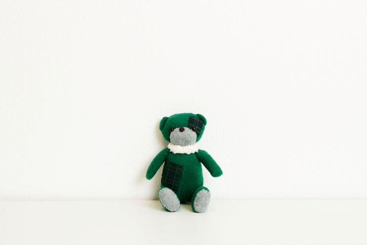 Зеленый мишка