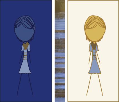 Фото №2 - Так почему же мы видим цвет платья по-разному?