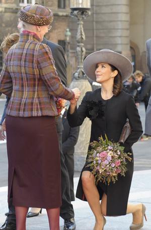 Фото №6 - Искусство реверанса: как современные принцессы и королевы приветствуют друг друга