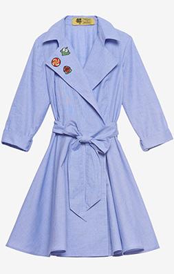 Фото №2 - Вещь дня: Платье-халат Cut the Rope & Trends Brands
