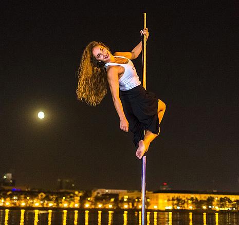 Алена Житомирская, танцовщица, фото