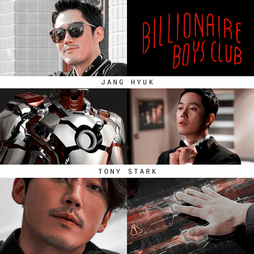 Фото №2 - Корейский Marvel: кто играл бы в «Мстителях», если бы их снимали в Южной Корее 🐱🏍