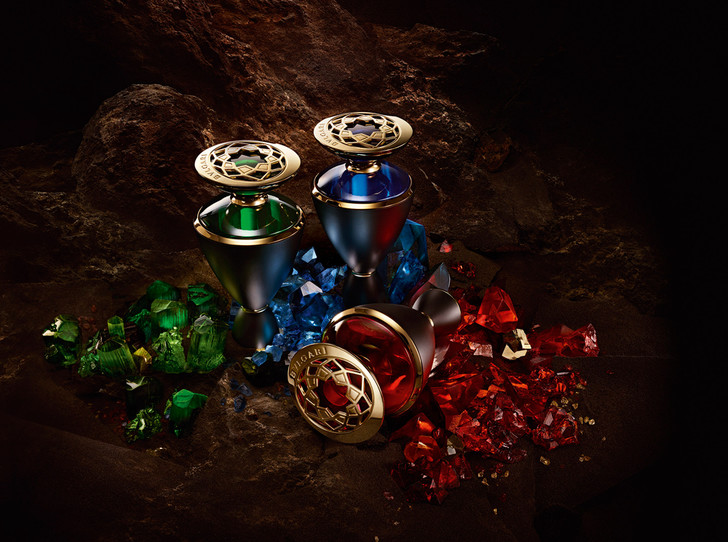 Фото №1 - Как пахнут сапфир, рубин и изумруд: драгоценное трио Bvlgari