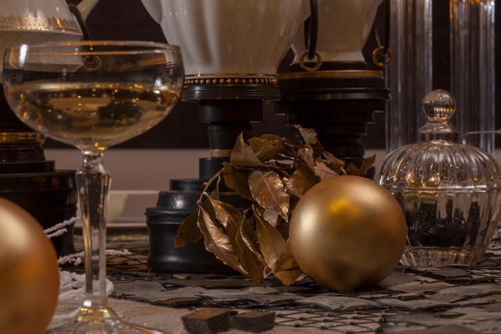 Фото №1 - Три новогодние сервировки от дизайнера Александрины Лукач