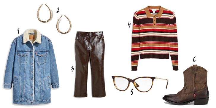 Фото №5 - Как носить деним зимой: 6 стильных образов на любой вкус