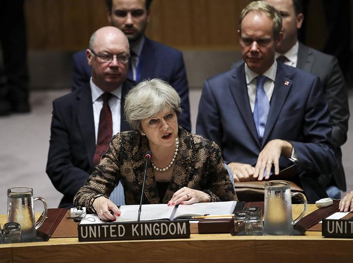 Фото №5 - Тереза Мэй: модная дипломатия и уникальный стиль главы Великобритании
