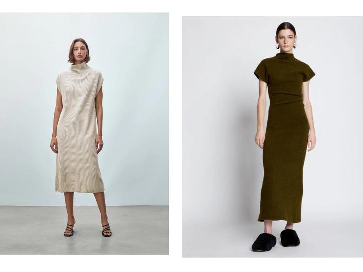 Фото №1 - Не просто трикотажное платье. 5 микротрендов сезона, которые стоит попробовать