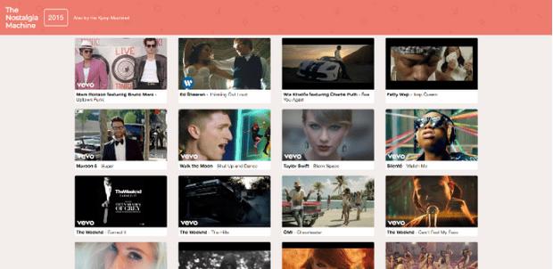 Фото №2 - Сайт дня: Чарты Billboard в виде подборок видео с YouTube