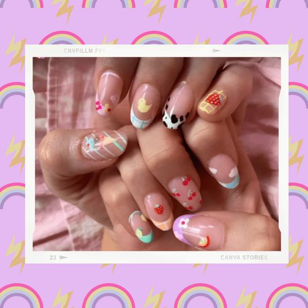 Фото №1 - Маникюр на день рождения: Блейк Лайвли показала супермодные яркие ногти