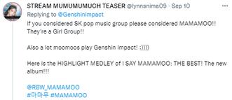 Фото №3 - Genshin Impact проведет концерт-коллаборацию с поп-группой из Южной Кореи