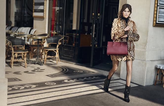 Фото №2 - Прогулки по Парижу: новая рекламная кампания Longchamp