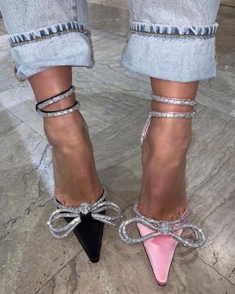 Фото №9 - Хрустальные туфельки Mach & Mach: грузинский бренд, покоривший Кайли Дженнер, Кэти Перри и других мировых модниц