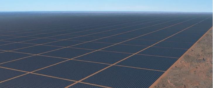 Фото №1 - Самая большая в мире солнечная электростанция появится в Австралии