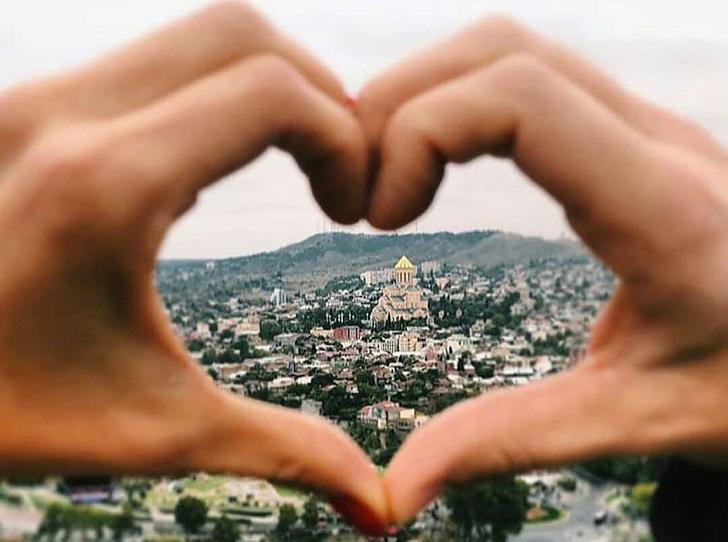Фото №1 - Love story в Тбилиси