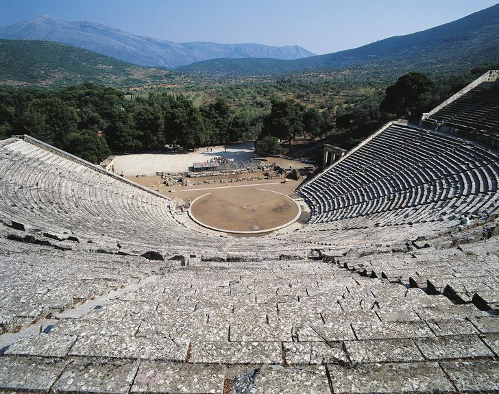 Фото №1 - Ученые проверили акустику в древнегреческом театре