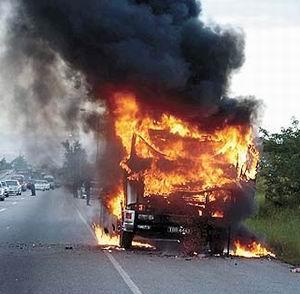 Фото №1 - Взрыв грузовика убил 37 человек в Мексике