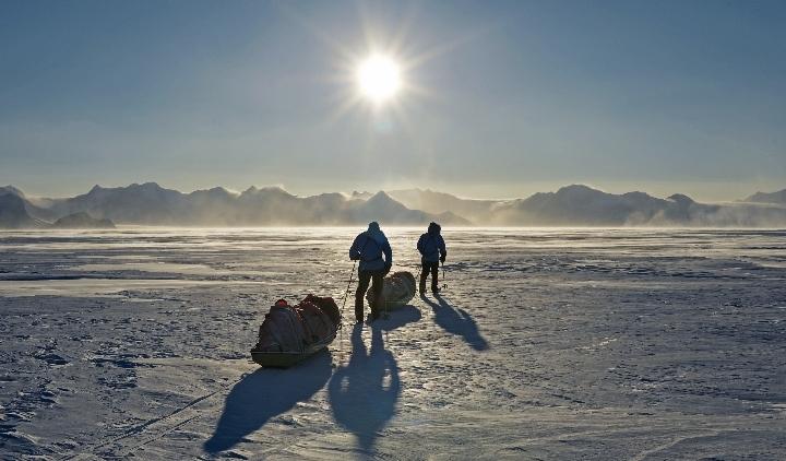 Фото №1 - Пешком по Антарктиде