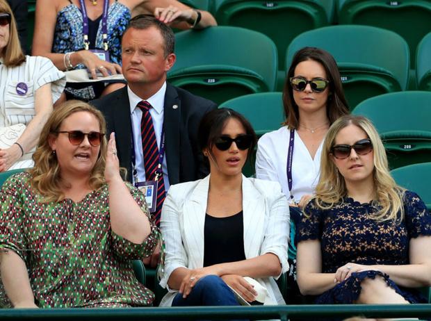 Фото №5 - Герцогиня Меган поддержала Серену Уильямс на Уимблдоне