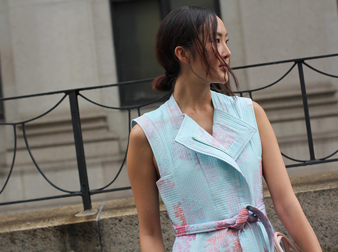 Фото №1 - Street style первого дня недели моды в Нью-Йорке