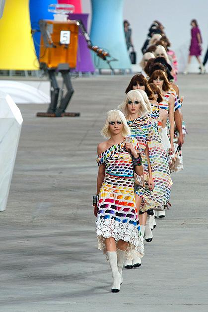 Показ Chanel, весна-лето 2014