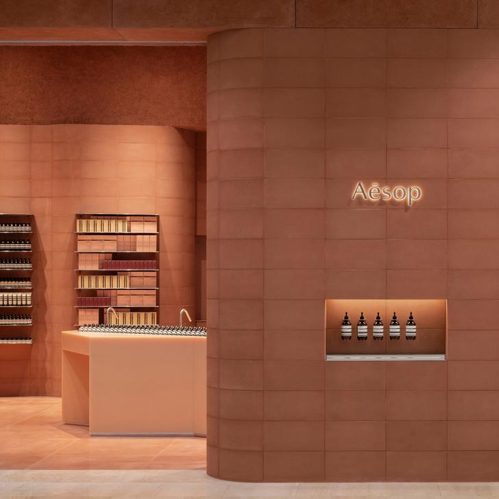 Фото №2 - Кирпичный бутик Aesop в Лондоне