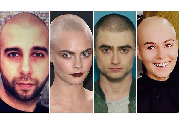 Фото №1 - 42 российские и зарубежные знаменитости, обрившие голову