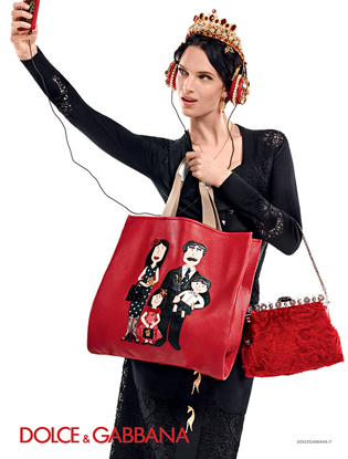 Фото №2 - Новая рекламная кампания Dolce&Gabbana