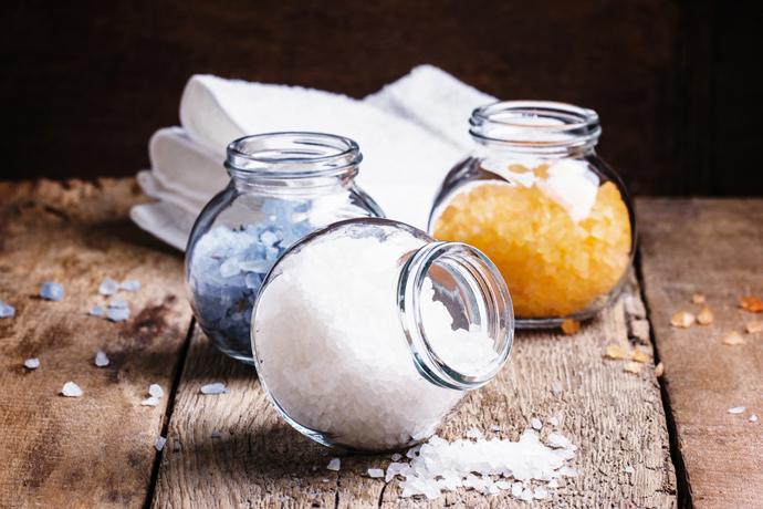 Ванны с морской солью: как правильно их «готовить»