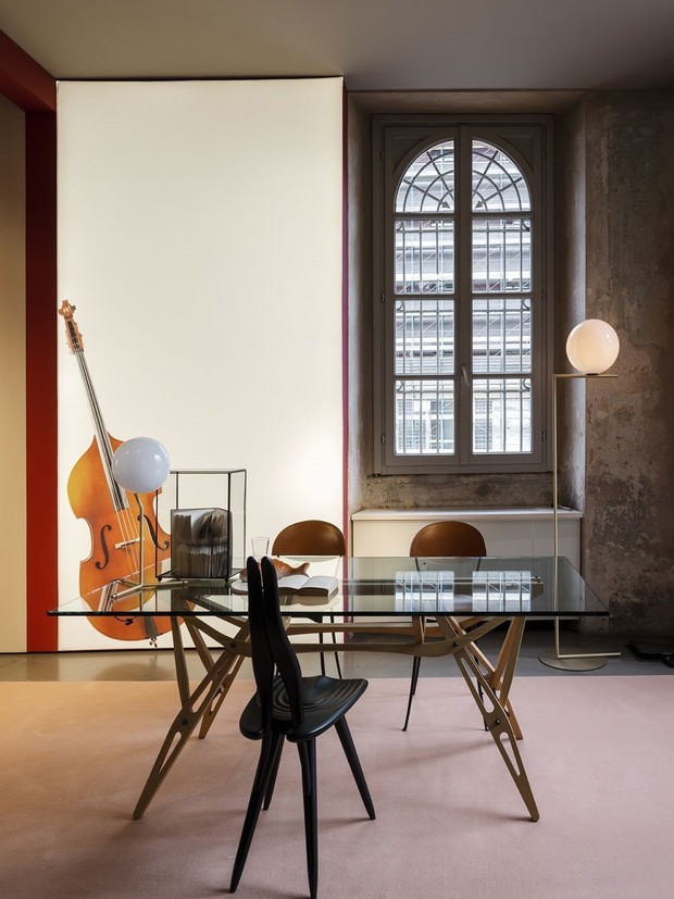 Фото №3 - Коллекция мебели по проекту Карло Моллино от Zanotta