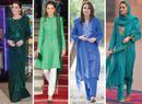Все наряды герцогини Кейт в туре по Пакистану